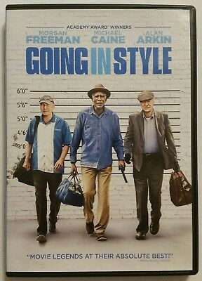 GOING IN STYLE (DVD, 2017, Comedy) *Morgan Freeman* SHIPS FAST Mon-Sat!