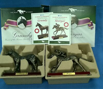 Atlas Editions - The Sport Of Kings Horses - Shergar & Grundy - Boxed #448