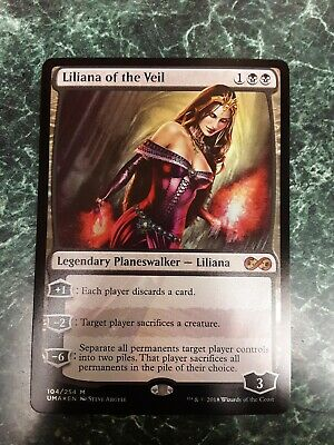 1 x Liliana of the Veil *FOIL* - Ultimate Masters - MINT Pack Fresh MTG