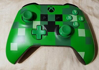 Minecraft Creeper Xbox One Wireless Controller S. Genuine official product.