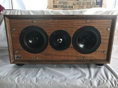VIFA WOOD CENTER Speaker Box (2)Mid Woofer (M13SG-09-16) (1) Tweeter  D25ASG05-06