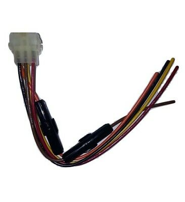 6 PIN 6PIN speaker plug wire harness ROCKFORD FOSGATE AMP PUNCH 45HD M H Wire Harness on