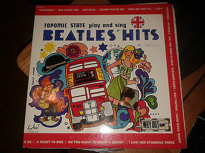 2Lp Topomic State Play And Sing Beatles' Hits
