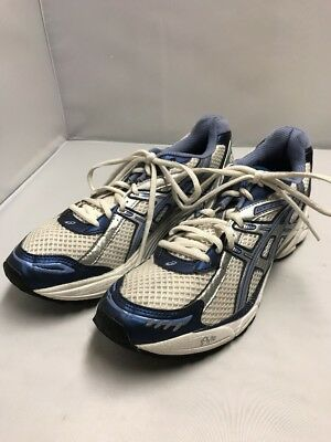 ASICS GEL GT 2120 BLUE SILVER WOMENS 99.99% NEW SUPERCLEAN see pics details