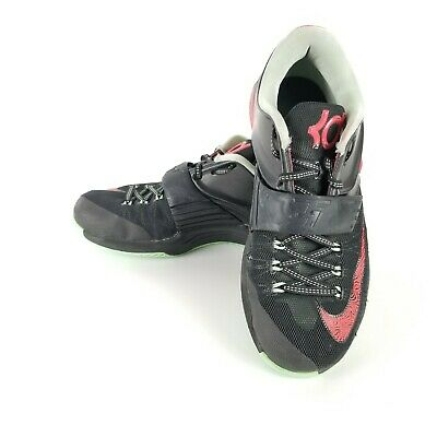 outlet store 5b3e5 bf353 Nike KD VII 7 Good Bad Apple Black Action Red Kevin Durant Sz 9 653996-