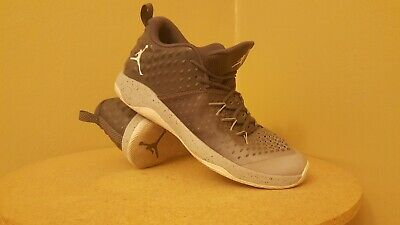 hot sale online 464ff a1ad6 Men s Air Jordan Extra.Fly Basketball Shoes Dark Grey White 854551-003 Size