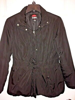 Totes Girl's Water Resistant Quilted Puffer Winter Jacket Coat Size L / 12-14