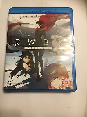RWBY: SEASON 3 (UK IMPORT) Blu-Ray NEW