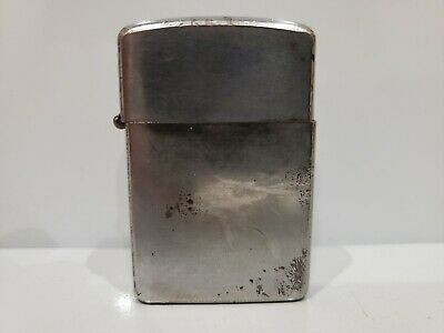 Vintage WORKING Champ Risable Windguard Made in Austria,  SILVER TRENCH LIGHTER