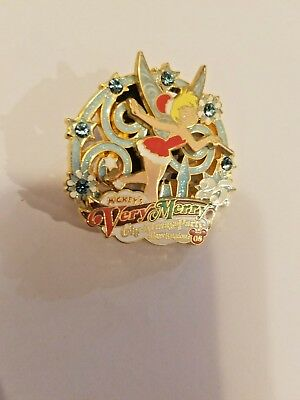 Disney Pin  WDW 2008 Mickey's Very Merry Christmas Party Tinkerbells LE4000 HTF