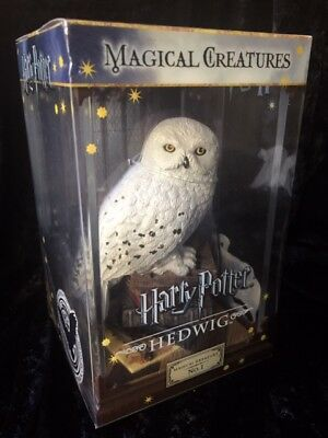 Harry Potter Magical Creatures No.1 Hedwig Pet Friend Snowy Owl Mail Delivery