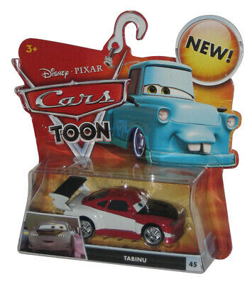 Disney Cars Movie Toon Tabinu Tokyo Drift Die Cast Toy Car Set