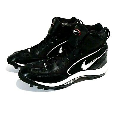 on sale bf0c5 91626 Nike Shoes Mens High Top Football Baseball Cleats Size 10