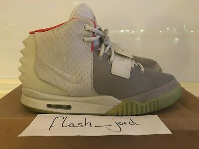 564246740 NIKE AIR YEEZY 2 Wolf Grey Pure Platinum US 11.5 (508214 010 ...