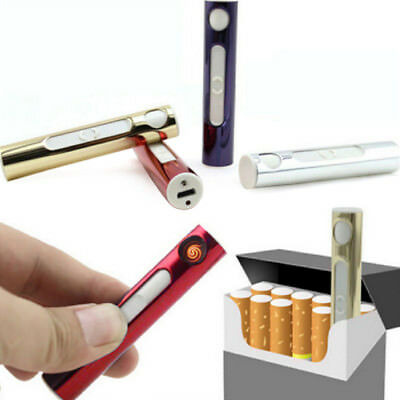 Electric Windproof Flameless Lighter USB Cigarette Rechargeable pipe lighter TR5