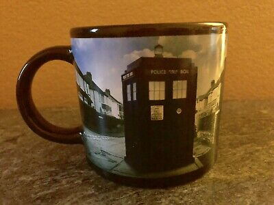1605 Doctor Who Disappearing Tardis 12oz Ceramic Mug Coffee Cup BBC Time Lord