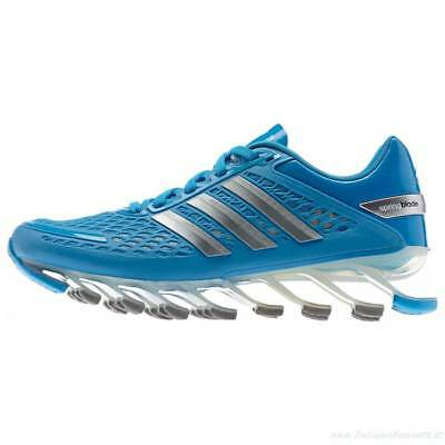 AUTHENTIC adidas SpringBlade M20247 Blue Silver Boys / Girls 7Y youth Women 8.5