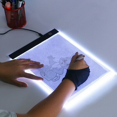 A4 LED Light Diamond Painting Tablet Drawing Board Panel Stencil Tracing Pad VY3