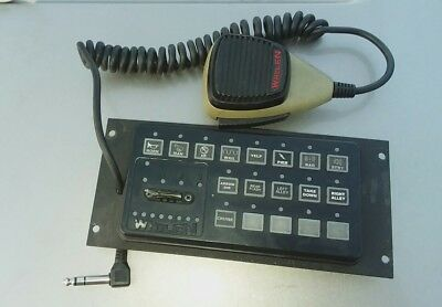 Whelen CenCom Gold Amplifier & Remote Head & Complete Wiring Included
