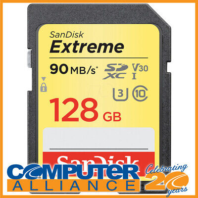 128GB Sandisk Class 10 Ultra Secure Digital (SDXC) Memory Card PN SSDSDXV5-128G-