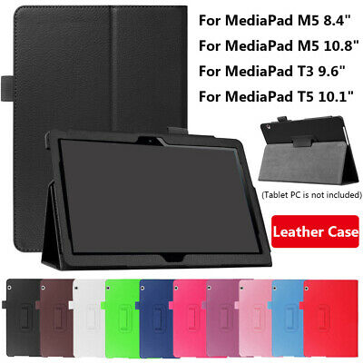 Smart Tablet Leather Stand Case Shell For Huawei MediaPad M5 8.4/10.8 T3 T5 10