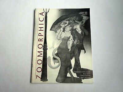 Zoomorphica Magazine by Wyvern's Den Page Studio Number One Summer 1992