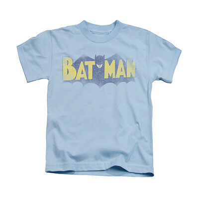 BATMAN VINTAGE LOGO Licensed Kids Boys Graphic Tee Shirt 2T 3T 4T 4 5-6 7