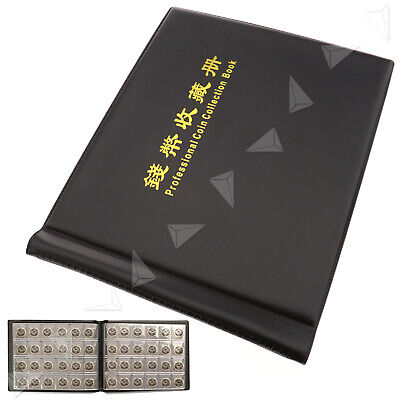 240 Coin Collection Holders Storage Money/Penny Pockets Album Book Best Collect