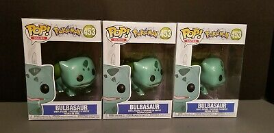 Funko Pop Pokemon Bulbasaur #453 Vinyl Figure in hand ( stock ) ready to ship