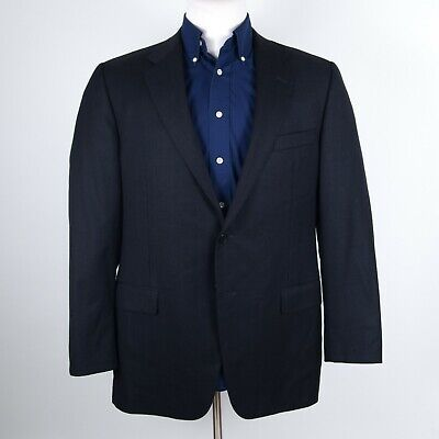 RECENT $1595 Hickey Freeman Addison Gray Dual-Vented Suit 42 R