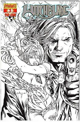 Witchblade: Shades Of Gray #3 - Retailer Incentive Sketch Variant