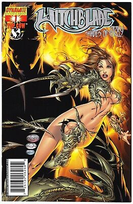 Witchblade: Shades Of Gray #1 - Silver Foil Variant - Ltd To 240 Copies W/cert