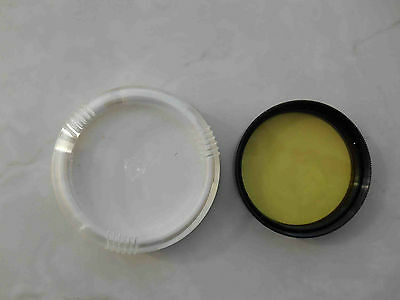 Yellow Light filter Ж-1.4 mount 49 mm in box for russian lens Helios 44-2