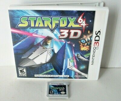 Star Fox 64 3D (Nintendo 3DS) Cartridge Only Good Label Starfox N64 Remake
