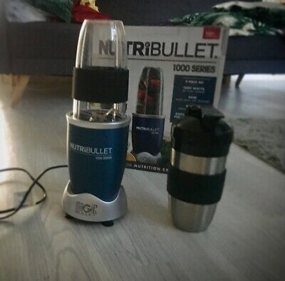 Genuine NutriBullet Pro 1000 Series Extractor Blender Hardly Ever Used -perfect