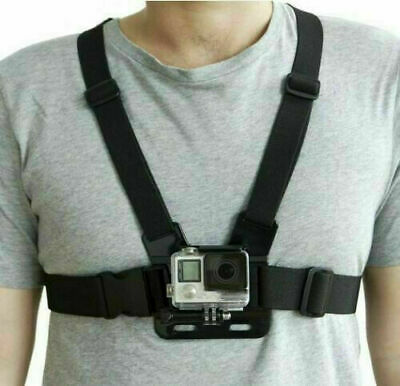 Adjustable Chest Strap Harness Mount For Go Pro HD Hero 1 2 3 4 5 6 7 Magic