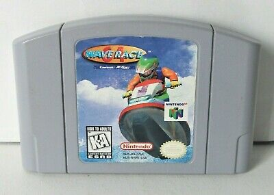 Wave Race 64 (Nintendo 64 N64) Cartridge Only Jet Ski Racing Game Authentic 1996