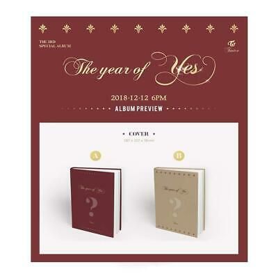 TWICE 3rd Special Album - The Year of YES (Random Ver) Album + Folded Poster