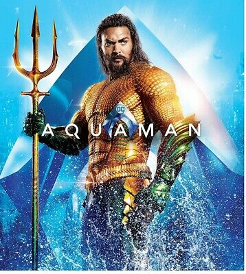 Aquaman (Choose from 4K Ultra HD or Blu-Ray Editions)