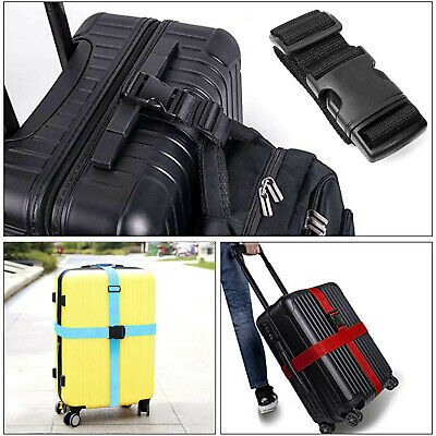 """Luggage Straps Suitcase Belt Travel Accessories, For Suitcase 16""""~32""""(Blue, Red)"""