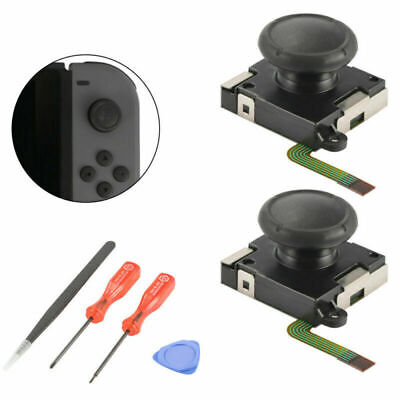 2x Analog Joystick Thumbstick Rocker Module with Tools for Switch Joy-Con AC1494