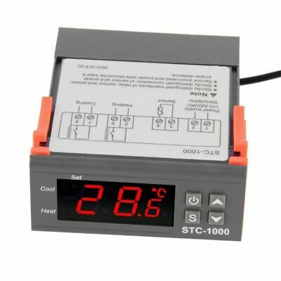 STC1000 110-220V Temperature Controller Temp Sensor Thermostat Control Digital