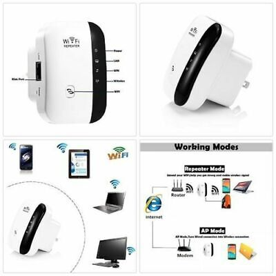 NEW WiFi Range Extender Super Booster 300Mbps Speed Boost Wireless Superboost EU
