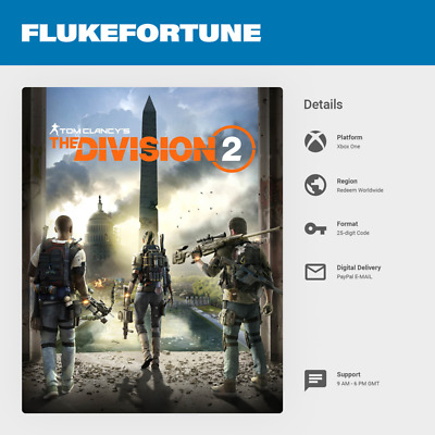 Tom Clancy's The Division 2 Xbox One - Digital Code (Worldwide)