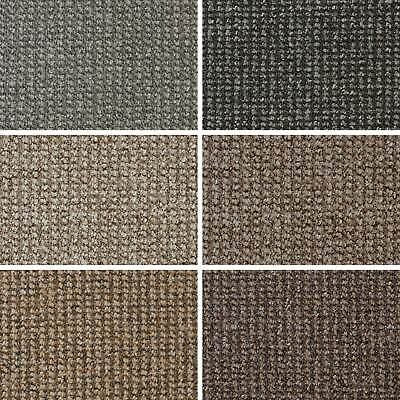 CHEAP Conan Loop Carpet Feltback Hard Wearing Flecked Lounge Bedroom CLEARANCE!