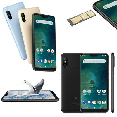 Xiaomi Mi A2 Lite 5,84 Zoll 4/64GB black gold blue Global Version - LTE Band 20
