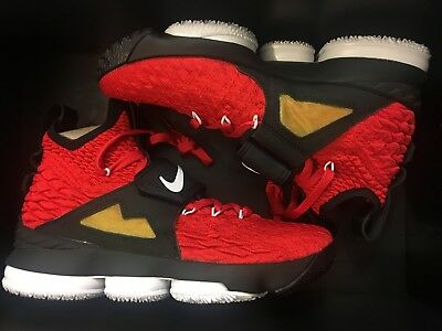 af1409cdb7 New Nike Lebron Xv 15 Prime Diamond Turf Red Lbj 23 Shoe Ao9144-600 Men