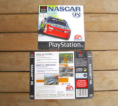 Nascar 98 (1997) Playstation 1 Cover Originale, No Disco