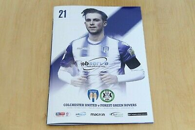 Colchester United v Forest Green Rovers - League Two - 12th March 2019