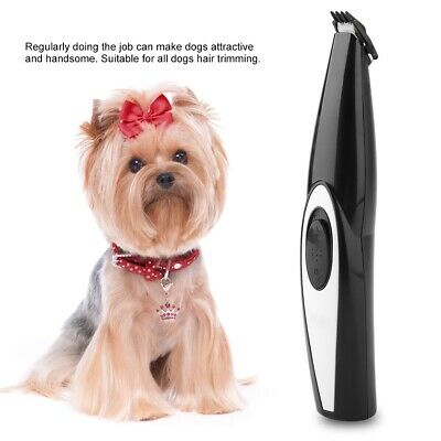 Portable USB Electric Pet Cat Dog Hair Clipper Grooming Trimmer Shaver Machine T